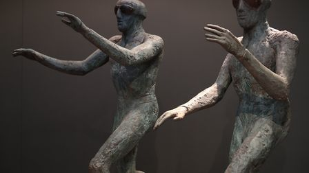 Elisabeth Frink exhibition preview at the Sainsbury Centre for Visual Arts in Norwich, Norfolk