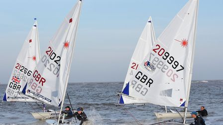 The Laser UK World and European Qualifiers at Lowestoft. Pictures: Mick Howes