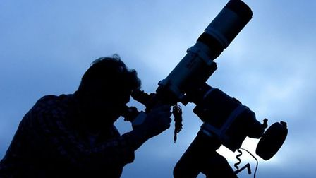 Astronomers are concerned plans for new housing in Great Ellingham could cause light poluution. Pict