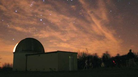 The Breckland Astronomical Society observatory is located in Great Ellingham. Picture: Breckland Ast