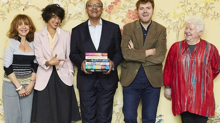 Judges Jacqueline Rose, Leanne Shapton, Kwame Anthony Appiah, Leo Robson and Val McDermid. Picture: