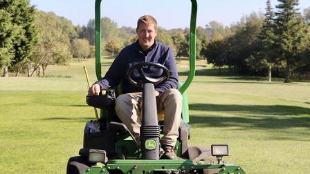 David Fraser, new head greenkeeper at Dunston Hall. PIC: Supplied by the Azalea Group.
