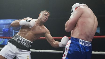 Iain Martell's scheduled bout at the last Norwich boxing show was cancelled at the 11th hour. Pictur