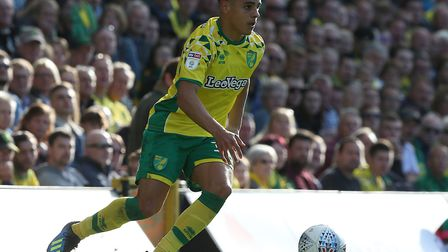 Max Aarons was one of three players to sign a new contract at Norwich City last week Picture: Paul C