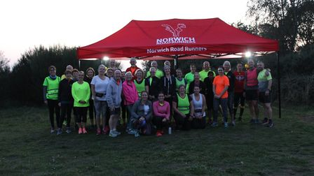 Norwich Road Runners held their first #RunAndTalk session last week. Picture: Norwich Road Runners