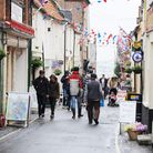 Wells' main shopping area, Staithe Street. Traders and residents have expressed concerns about the c