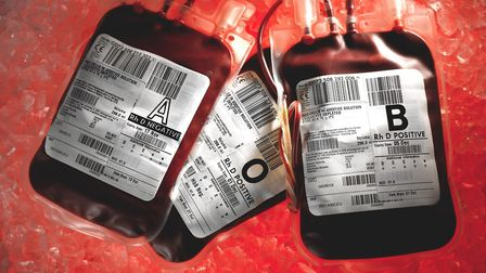 An inquiry into contaminated blood will start today. Pic: NHS Blood and Transplant/PA Wire