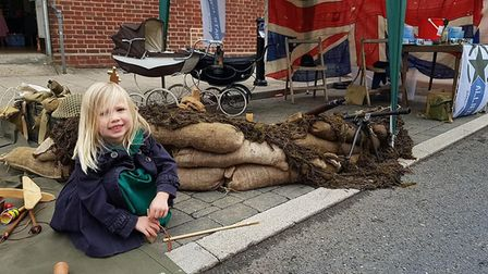 Visitors flocked to the town for the dad's army weekend. Picture: Supplied by Lee Lawrence.