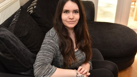 Kayleigh Hanlon is trying to raise awareness of cervical cancer. Byline: Sonya Duncan
