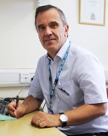 Dr Nick Lyons, medical director at the Queen Elizabeth Hospital, King's Lynn. Picture: QUEEN ELIZABE