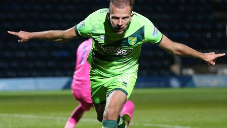Jordan Rhodes had a night to remember at Wycombe Picture: Paul Chesterton/Focus Images Ltd
