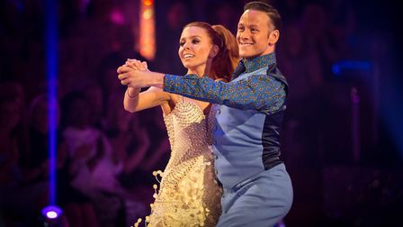 Dancing to Dancing by Kylie Minouge, a first-ever for a first week saw Stacey Dooley do the Quickste
