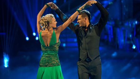 Lee Ryan letting the popstar cohord down by slipping to the bottom half of the table, but his Waltz