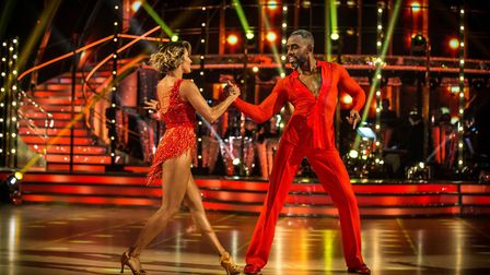 Charles' Cha Cha Cha god middling scores from the judges but was as close at Strictly security have