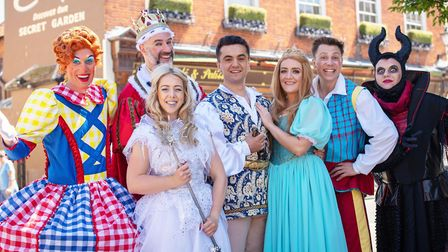 The cast of Sleeping Beauty, which will be performed at Beccles Public Hall this Christmas. Credit: