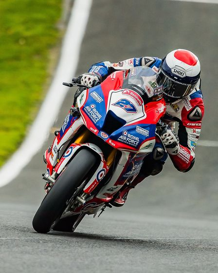 RAF Superbike rider Jake Dixon will be aiming for another pair of wins at Assen Picture: Barry Clay