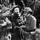 (From left) Ian Lavender, Clive Dunn, James Beck, Arthur Lowe and John Le Mesurier in the television