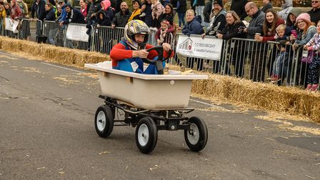 Scenes from the Searles Soapbox Derby at Hunstanton. Picture: Chris Bishop