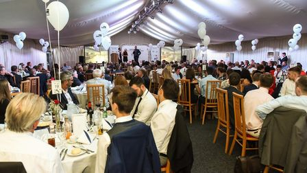 Norfolk County FA's awards evening in full swing. Special guests were Demerai Gray, Dominic Solanke,