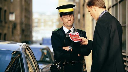 Stock image of a person contesting a parking fine. Picture:NewsCast