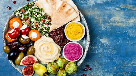 A spread of Mediterranean food Picture: Getty Images/iStockphoto