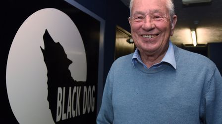 Colin Bain, chairman and chief executive, Black Dog project, helping with mental health issues. Pict