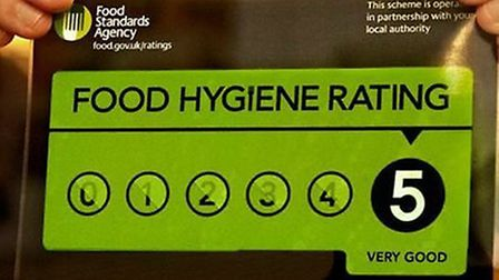 Should it be a legal requirement for businesses to display food hygiene ratings?. Picture: submitted