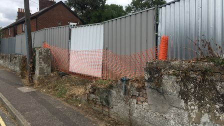Previous plans would have seen a bungalow and garage built at the former burial ground in Croft Lane