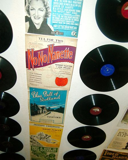 Albums of organ music were hugely popular through the post-war period with these examples at the Mec