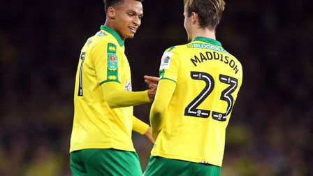 Josh Murphy's goal so nearly earned a famous Canaries win at the Emirates Picture: Paul Chesterton/F