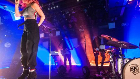 Against The Current perform in Norwich (Image: Paul M. Jones)