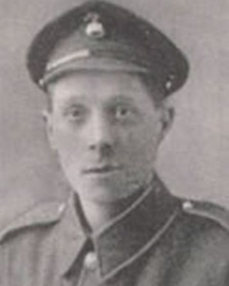 Ernest Seaman. Picture provided by Norwich City Council