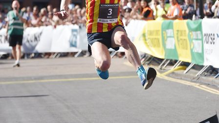 CONAC athlete Nick Earl was in fine form at the Melbourne Marathon recently. Picture: ANTONY KELLY