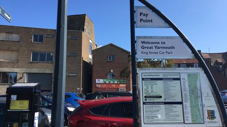 King Street pay and display car park in Great Yarmouth. Picture Joseph Norton
