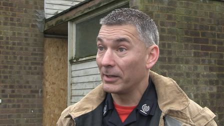 Garry Collins, head of prevention and protection at Norfolk Fire and Rescue Service