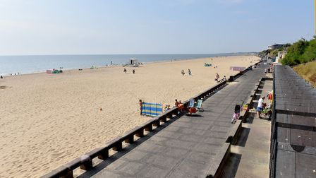 Lowestoft south beach. Picture: Nick Butcher