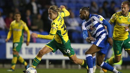 Todd Cantwell in action at the Madejski Stadium Picture: Paul Chesterton/Focus Images
