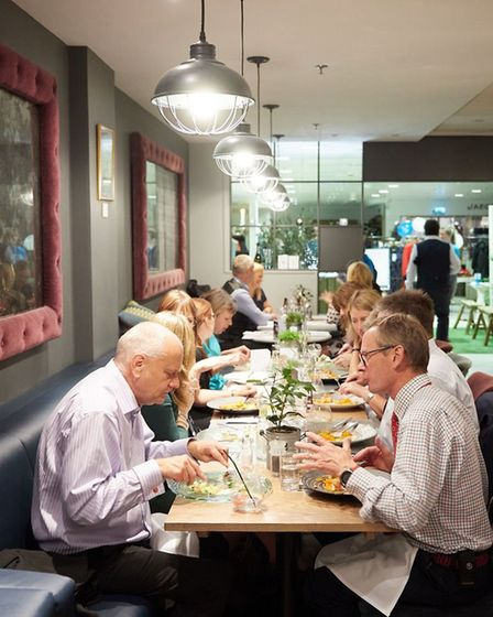Lloyd Addison's Moveable Feast 2018. Picture: Keiron Tovell