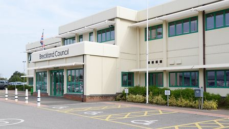 A complaint has been made against a member of Breckland Council Picture: Ian Burt