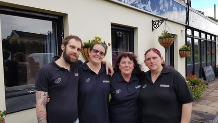 The team at the Brickmakers. Photo: Archant