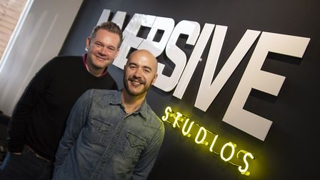 From left: James Burrows and Matthew Martin. Picture: Immersive Studios