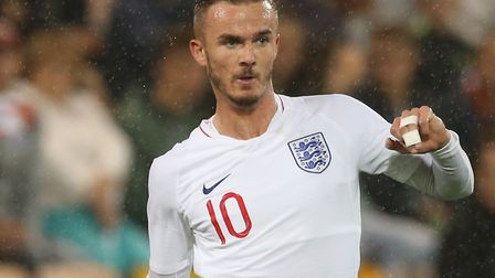 James Maddsion was back at Carrow Road with the England U21s last month but is now in the senior squ