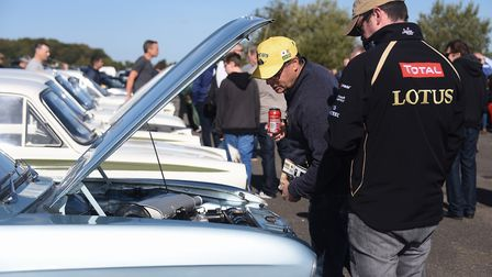 Lotus enthusiasts at the 70th anniversary of Lotus event. Picture: DENISE BRADLEY