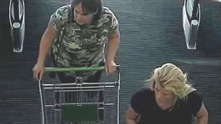Police are keen to identify these two women. Picture: Norfolk Police