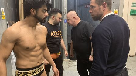 Holt will pair with Zak Knight to take on Kosta K and Prince Malik. Picture: WAW/Twitter