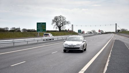 The final bill for the Norwich Northern Distributor Road (NDR) is due next month. Picture: ANTONY KE