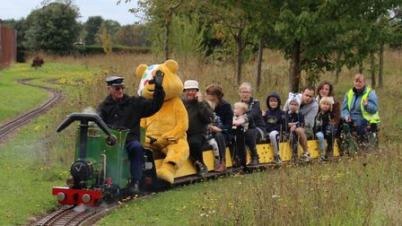 Sunday's Children in Need fundraiser at Eaton Park Miniature Railway. Picture: Mike Fordham