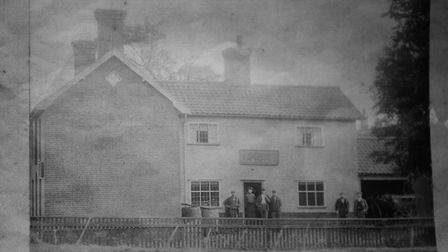 The former Old Trowel and Hammer pub in Bunwell, which is now owner by carver, sculptor and printmak
