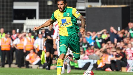 Bradley Johnson during his Norwich City days. Picture: Paul Chesterton/Focus Images