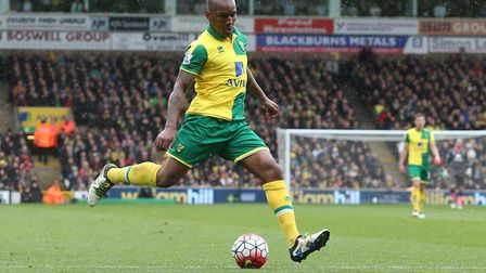 Andre Wisdom was on loan at Norwich City from Liverpool. Picture: Paul Chesterton/Focus Images